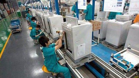 我国洗衣机出口均价下滑 逼近千元人民币关口