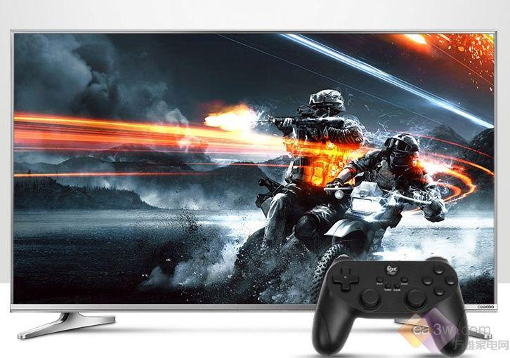 智能电视新春特惠中 智能游戏电视酷开U2仅售2599