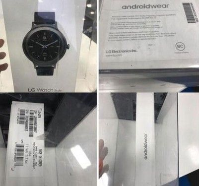 LG Watch Style来了?这次包装盒都曝光了
