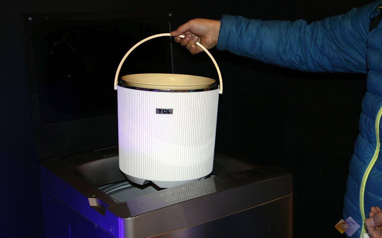 碉堡了的家电黑科技!TCL套娃桶中桶洗衣机首测