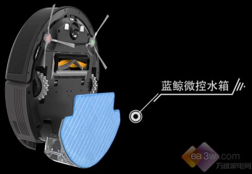 AWE2017 科沃斯机器人蓝鲸清洁系统2.0重装