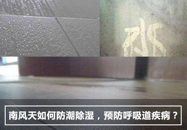 南风天如何防潮除湿,预防呼吸道疾病?