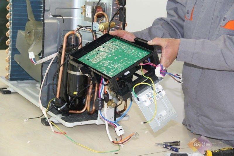空调内部都有啥 科龙柜机暴力拆解图赏第14张图片