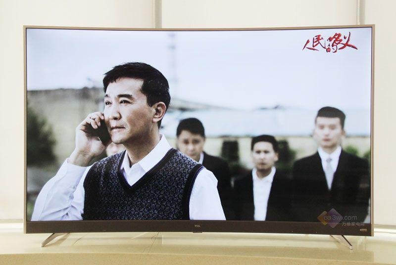 TCL 65P3曲面电视评测:声色俱佳,互动智能