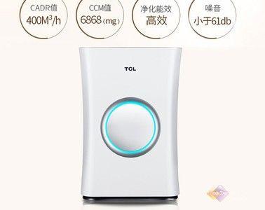 京东微联控制!TCL 爆款净化器2298元抢购!