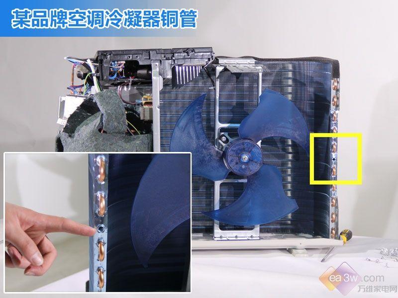空调从此没秘密(一):空调四大件优劣拆机对比
