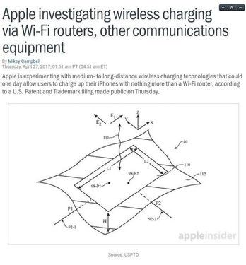 科技早闻:5米以内无线充电?iPhone 8又要放大招