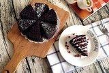 每日一道家常菜:无烤箱版黑米蛋糕