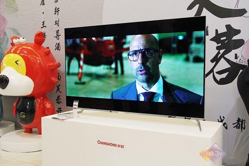 真正的无边框 长虹CHiQ人工智能电视Q5A图赏