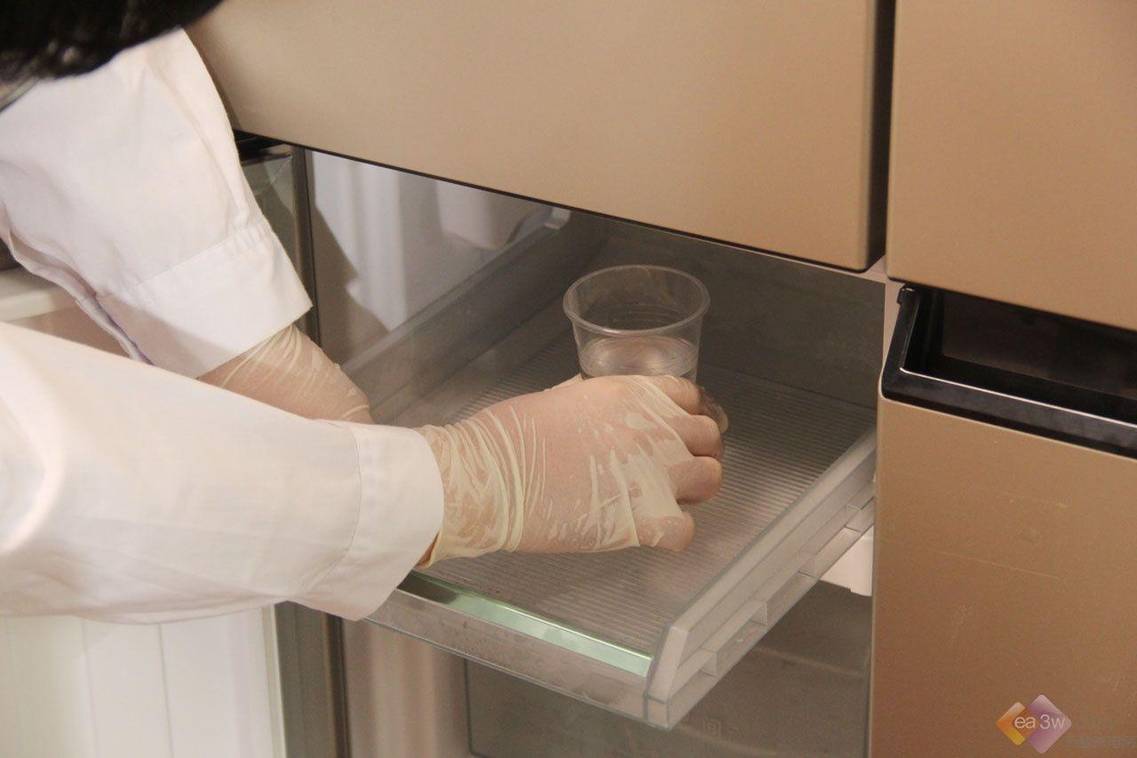 海尔全空间保鲜冰箱实验大挑战一:小球浮沉