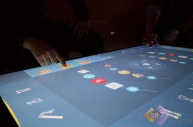 创意至上!超大屏4K不是电视而是桌子