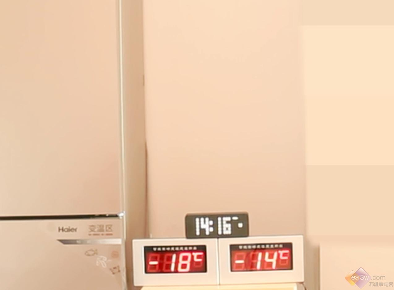 海尔全空间保鲜冰箱实验大挑战二:温度波动