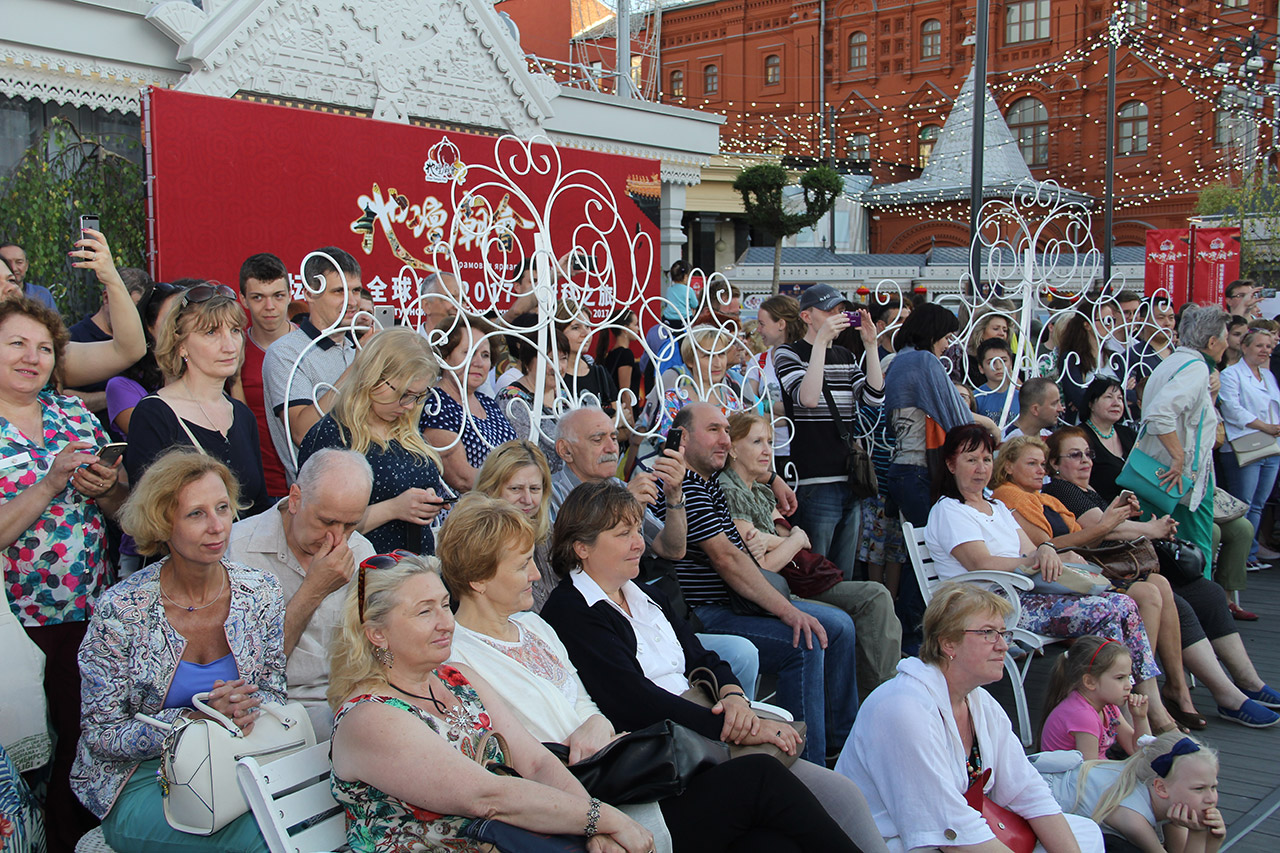 地坛庙会全球行·2017莫斯科之旅:传统艺术演出