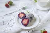 每日一道家常菜:低脂又营养的紫薯草莓大福