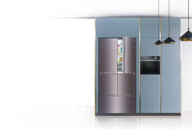 奢华与科技并存,卡萨帝F+自由嵌入式冰箱亮相IFA展