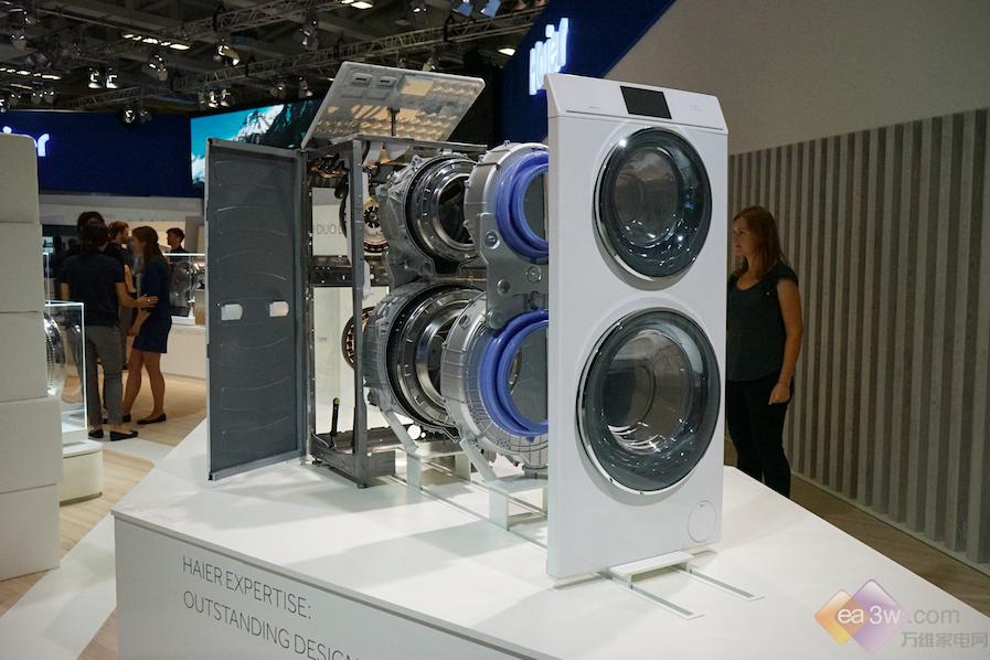 卡萨帝洗衣机集体亮相IFA,每一款都特色十足
