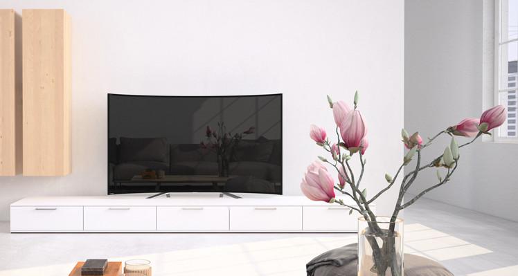 曲面电视有什么值得我们去购买的地方?首先得先了解它