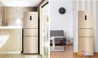 适合一家三口用的三门冰箱,就选风冷无霜冰箱