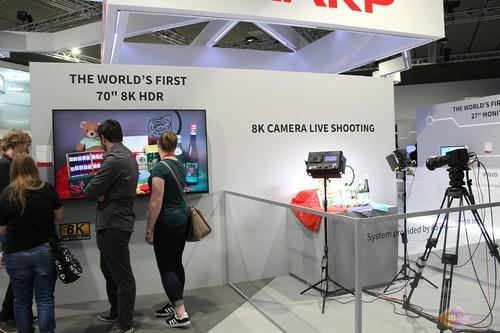 在欧洲也要玩转8K电视,夏普IFA2017主打8K盛宴