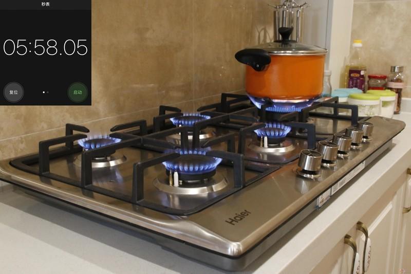 厨房高效神器,海尔5头灶整体评测