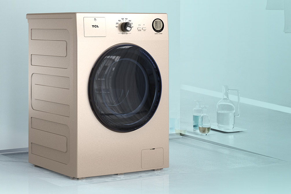 无惧雾霾天,TCL洗烘一体滚筒洗衣机新品首发,击穿底价!