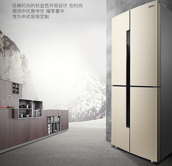 """生活需要""""大容量"""",超气派对开门无霜冰箱怎么买?"""