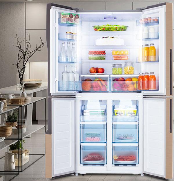 食材买多容易坏?智趣冰箱,让保鲜更进一步