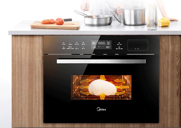 美的E系G2000嵌入式电烤箱深度实测:满足你对好烤箱的终极想象!