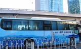 """今日起,北京市民上班可约""""无霾巴士"""""""