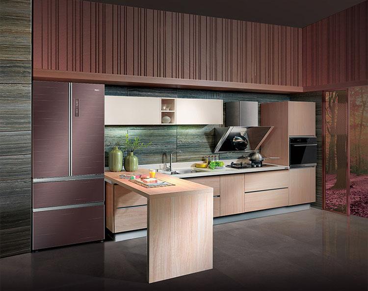 和食物保持新鲜感,风冷无霜冰箱让家人更健康