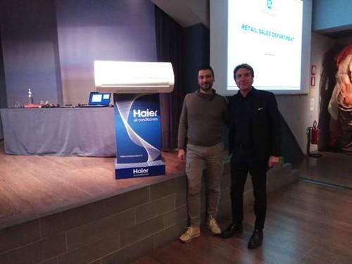 海尔在意大利推出易安装的智能自清洁空调