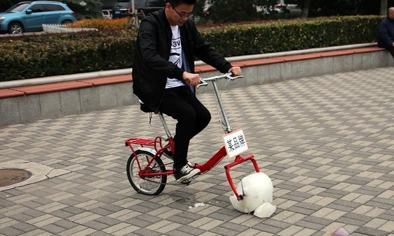 自行车CP白花蛇草水[上路篇] 边骑边掉渣是怎样的体验