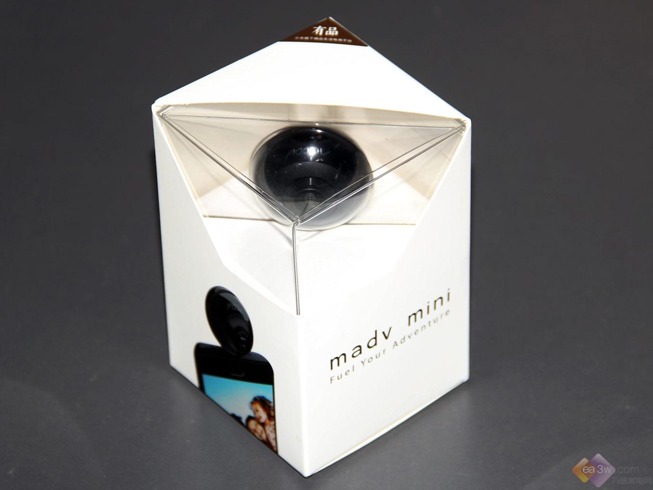 15秒轻松拍出720度全景VR照片,MADV Mini全景相机试用