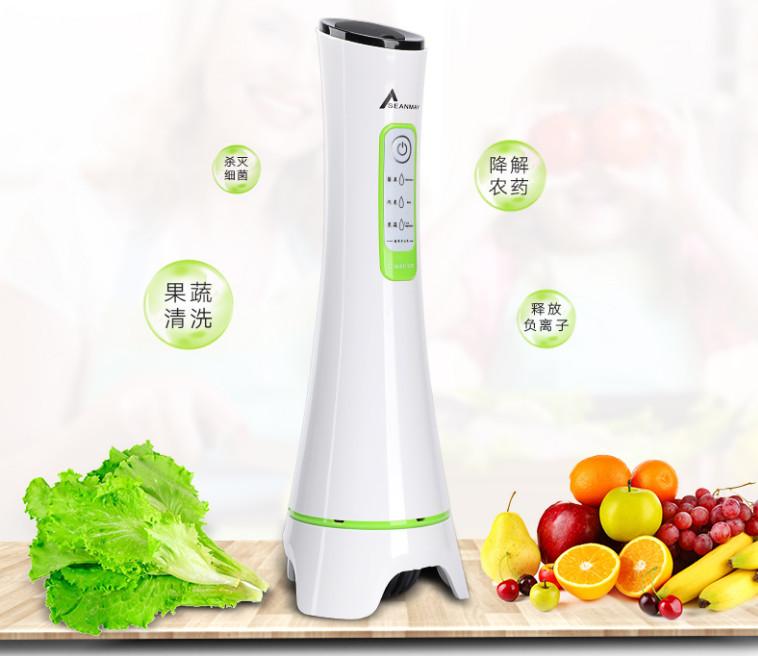众筹也疯狂!超声波清洗果蔬的机器你见过?