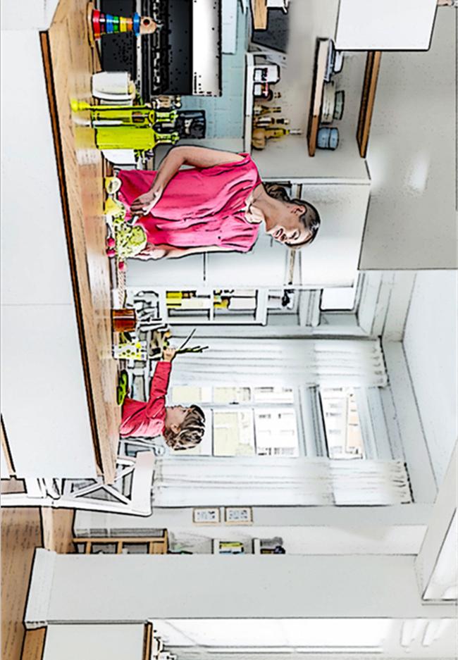 开放式厨房&封闭式厨房,两者的差距不只是一个门而已