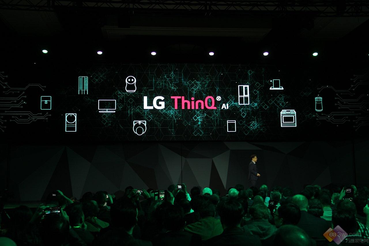 CES直击:LG全力布局人工智能ThinQ,发布四款OLED电视