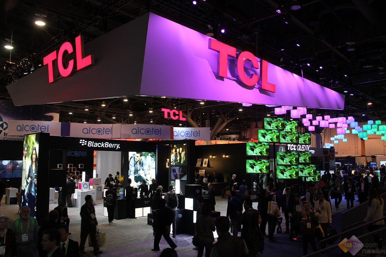 CES 2018:TCL澳门博彩官网展台直击,2018春季新品抢先看