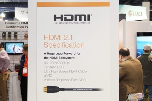 采用 HDMI 2.1 规范的产品持续增长,2019 CES又有新产品
