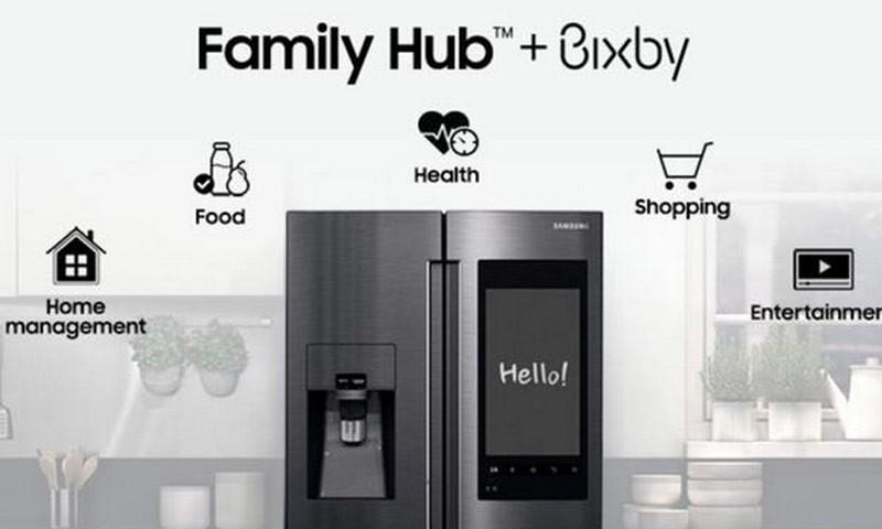 娱乐与科技并行,三星Family Hub3.0强势登陆CES