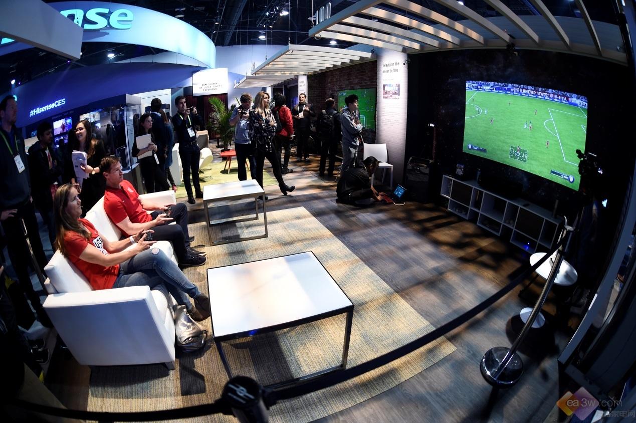 中国创造照耀世界 海信电视再获两项CES大奖