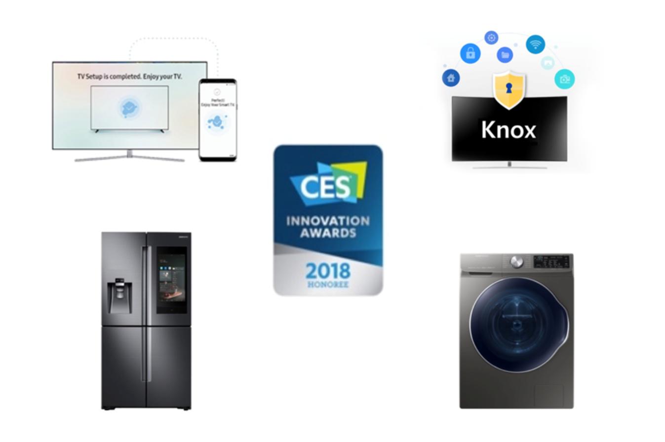 36项创新大奖花落三星,未来黑科技制霸CES