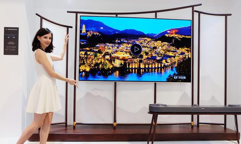 行业起飞风口,从CES展看电视行业2018新趋势