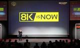 8K产业相继发展  夏普8K电视抢得先机