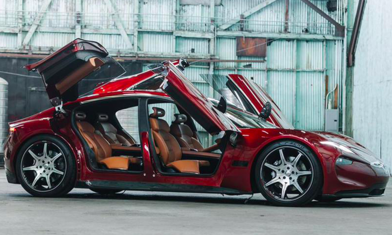 现代推出一款全新2018款氢燃料电池车