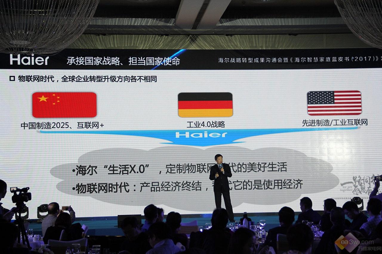用实力诠释全球第1家电品牌,海尔2017三大转型成果解读