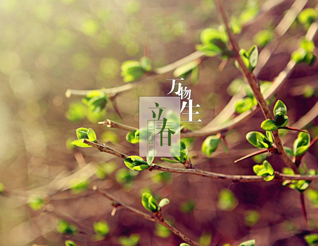 转眼又是立春,这份春节前的大礼包,你可有签收?