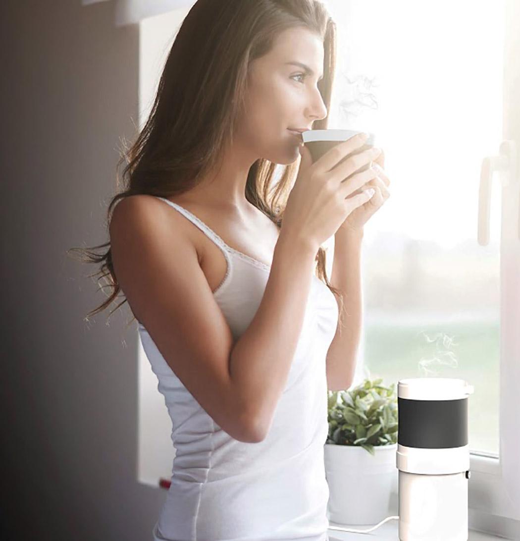 一睁眼就能喝上热咖啡,自己一个人也能办到