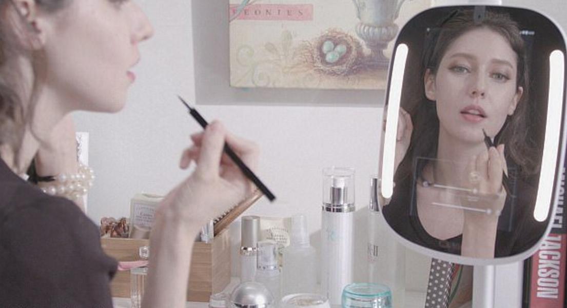 妹纸们的福音,一款堪比私人美容师的神奇魔镜