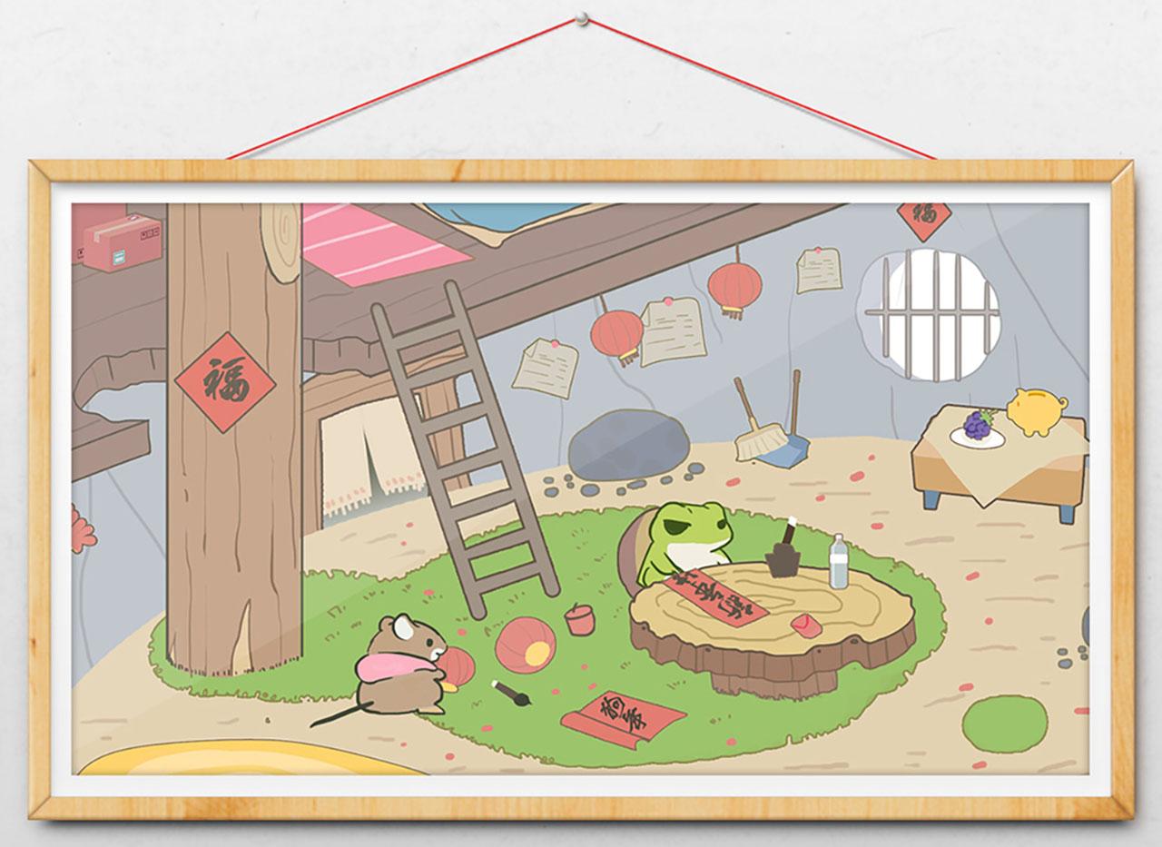 如果送旅行青蛙一份年货,你猜小编会怎么送?