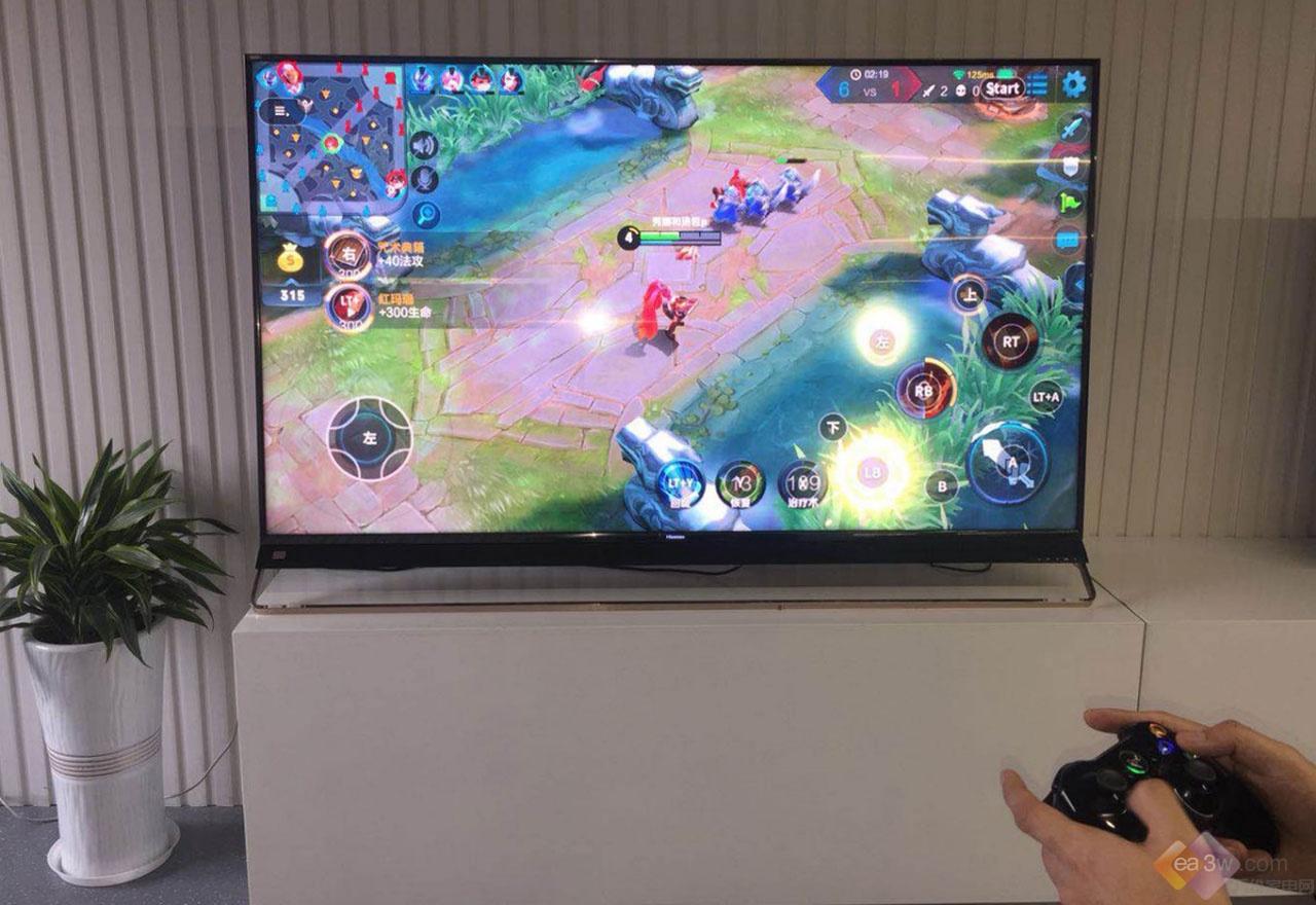 《王者荣耀》登录电视屏,这次海信人工智能电视抢了先